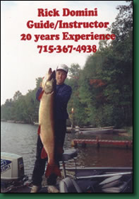 Rick Domini Guide Services - for the fish of your life!